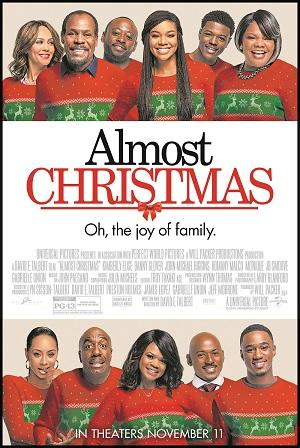Almost Christmas the movie opens in Boston
